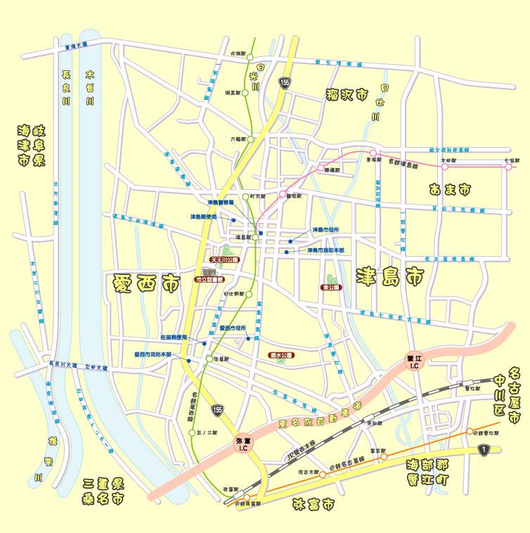 愛知県 > 愛西市・津島市