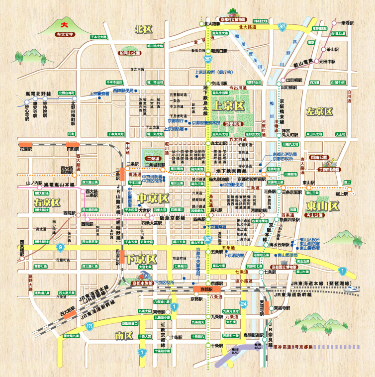 京都市中央(上京区・下京区・中京区・東山区) - インターネット ...