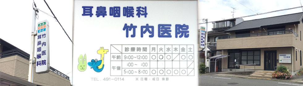 竹内 耳鼻 咽喉 科 たけうち耳鼻咽喉科 愛知県半田市 WEB予約受付